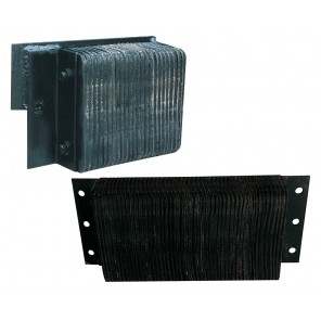 """LAMINATED DOCK BUMPERS, Size D x H x W: 4-1/2 x 6 x 36"""""""