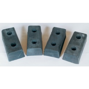 MOLDED BUMPERS, Length: 20""