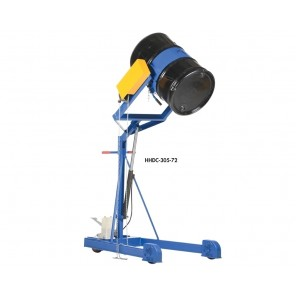 HYDRAULIC DRUM CARRIER/BOOM, Power Option: Std (Manual Foot Pump), Lift Height: 59-11/16""