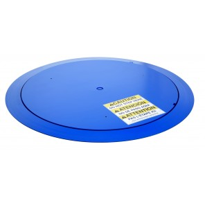"""THIN SPIN LOW-PROFILE CAROUSEL, Dia.: 51"""" usable (60"""" overall), Cap. (lbs.): 4000"""