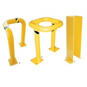 CORNER & COLUMN GUARDS, Ltr. No.: A, Overall Height: 24""