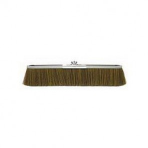 Vortec Pro® 25295 Coarse Economy Strip Broom, 3 in Trim, Brown Polypropylene Bristle