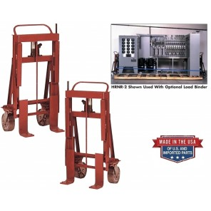 "SUPER HEAVY-DUTY CARGO LIFTS, Lift Capacity (lbs.): 2000, Lift Height: 5"", Caster: Steel"