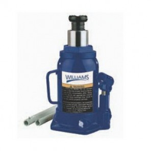 Williams® 3T12TV Side Pump Bottle Jack, 12 ton Load, 9-1/2 in, 18.63 in, 3.13 in Screw Length