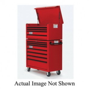 Williams® W40TC4B Professional Top Chest, 19-7/16 in H x 40-1/32 in W x 19-13/16 in D, Aluminum Handle/Steel Drawer