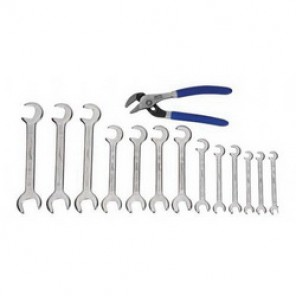 Williams® WS-1142PCA Wrench and Plier Set, Utility, 14 Pieces