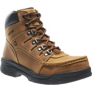 "Men's Wolverine Potomac English Moc Steel-Toe EH 6"" Work Boot"