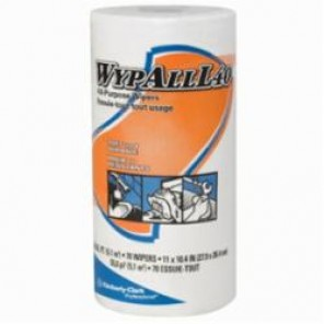 WypAll; 05027 America's Favorite General Purpose Wiper, 10.4 in W, 70 Sheets, DRC, White