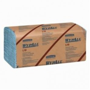 WypAll; 05123 Windshield Towel, 9.1 in W, 224 Wipes, Paper, Blue