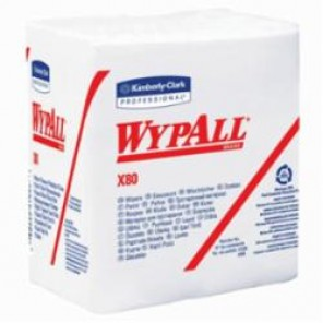 WypAll; 41026 Cleaning Wiper, 12-1/2 in W, 50 Sheets, Hydroknit®, White