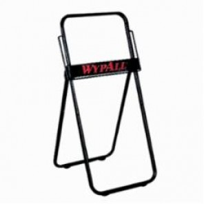 WypAll; 80596 Jumbo Roll Dispenser, 33 in L x 16.8 in W x 18-1/2 in H, Floor Stand Mount, Metal, Black