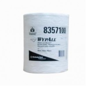 WypAll; 83571 Disposable Wiper, 9-3/4 in L x 13 in W, Hydroknit, White