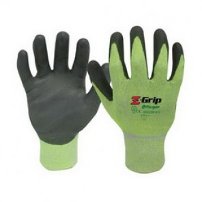 Z-Grip® High Visibility Palm and Fingers Coated Gloves